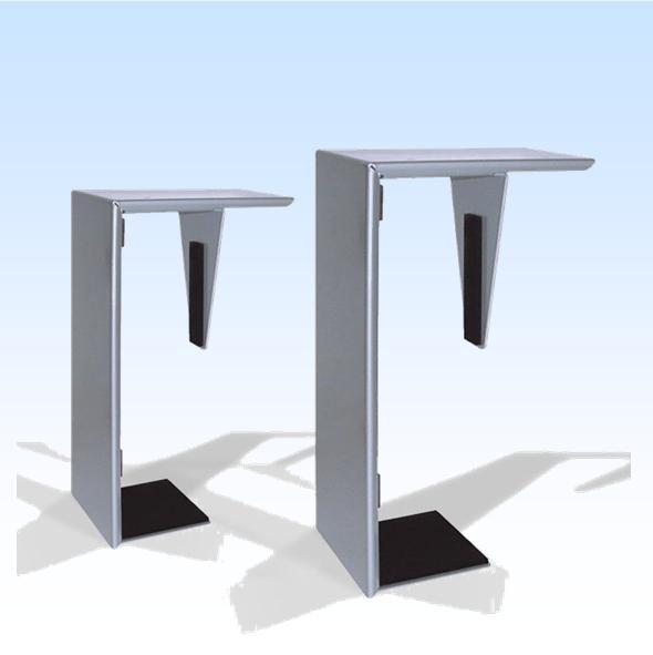 computer steun onder bureau